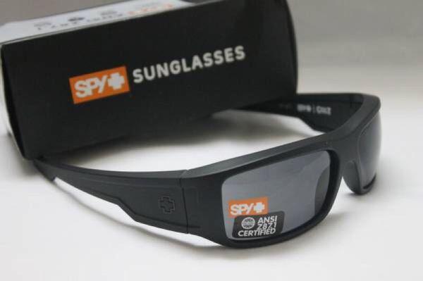 e39820e9fd New Spy Optic Colt ANSI Z87 Sunglasses - Matte Black Frame   Grey Lens