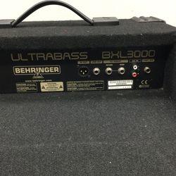 Behringer Ultra bass BXL3000  Thumbnail