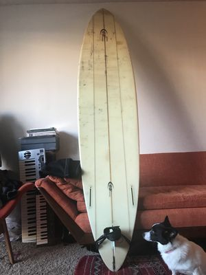 Surf board custom and hands shaped by legendary Roger hinds for Sale in San Francisco, CA