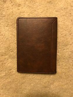 Faux Leather Passport Holder Thumbnail