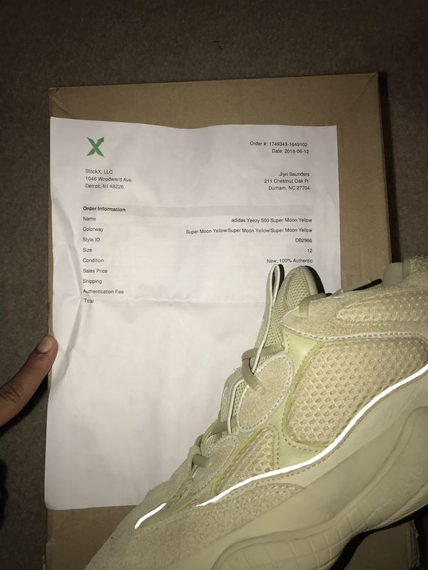 d20afa6c5fe43 adidas Yeezy 500 Supermoon Yellow Size 12 for Sale in Durham