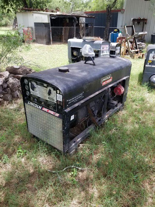 Sa 250 lincoln welder (diesel) for Sale in San Antonio, TX - OfferUp