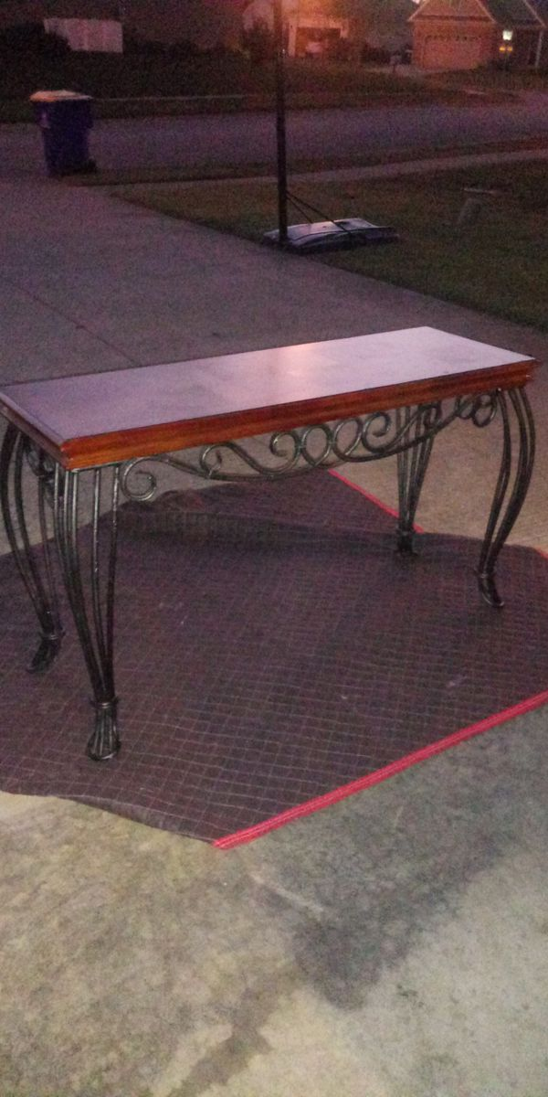 Wooden And Iron Long Table For Sale In Bowling Green Ky