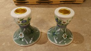 Hand-painted candle holders by Kathy hatch for Sale in MD, US
