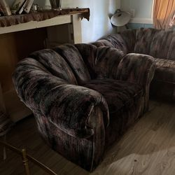 Couch, Love Seat And Chair  Thumbnail