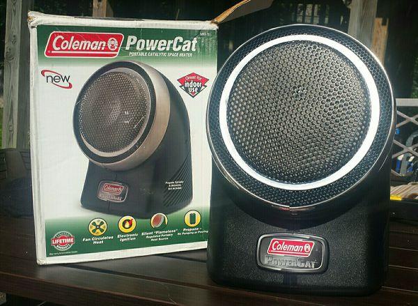 Coleman Powercat Portable Catalytic Propane Heater 5053