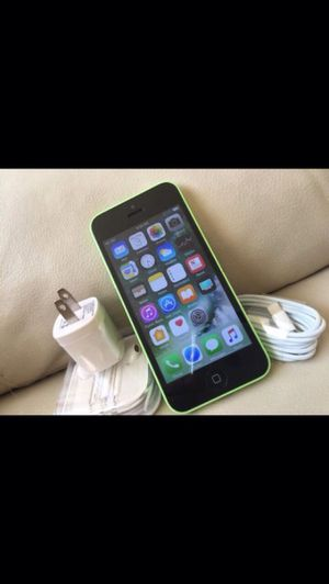 (Green)iPhone 5c ,Factory Unlocked Excellent Condition for Sale in Springfield, VA