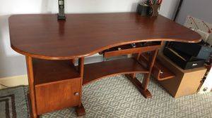 Ergonomic Wooden Desk. for Sale in Los Angeles, CA