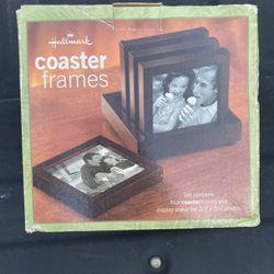 Hallmark Brown Wooden Picture Coaster Frames Thumbnail