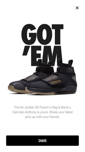Nike Air Jordan XX 20 Flyknit - Carmelo Anthony x Rag & Bone Air Jordan 20 Men's Size 8 New in Box Available October 3rd for Sale in Washington, DC
