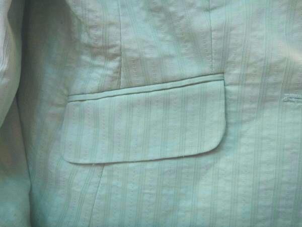 Brand New Women's Light Blue Spring Blazer Jacket by H&M, Size 10