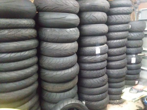 quality used motorcycle tires and service for sale in saint