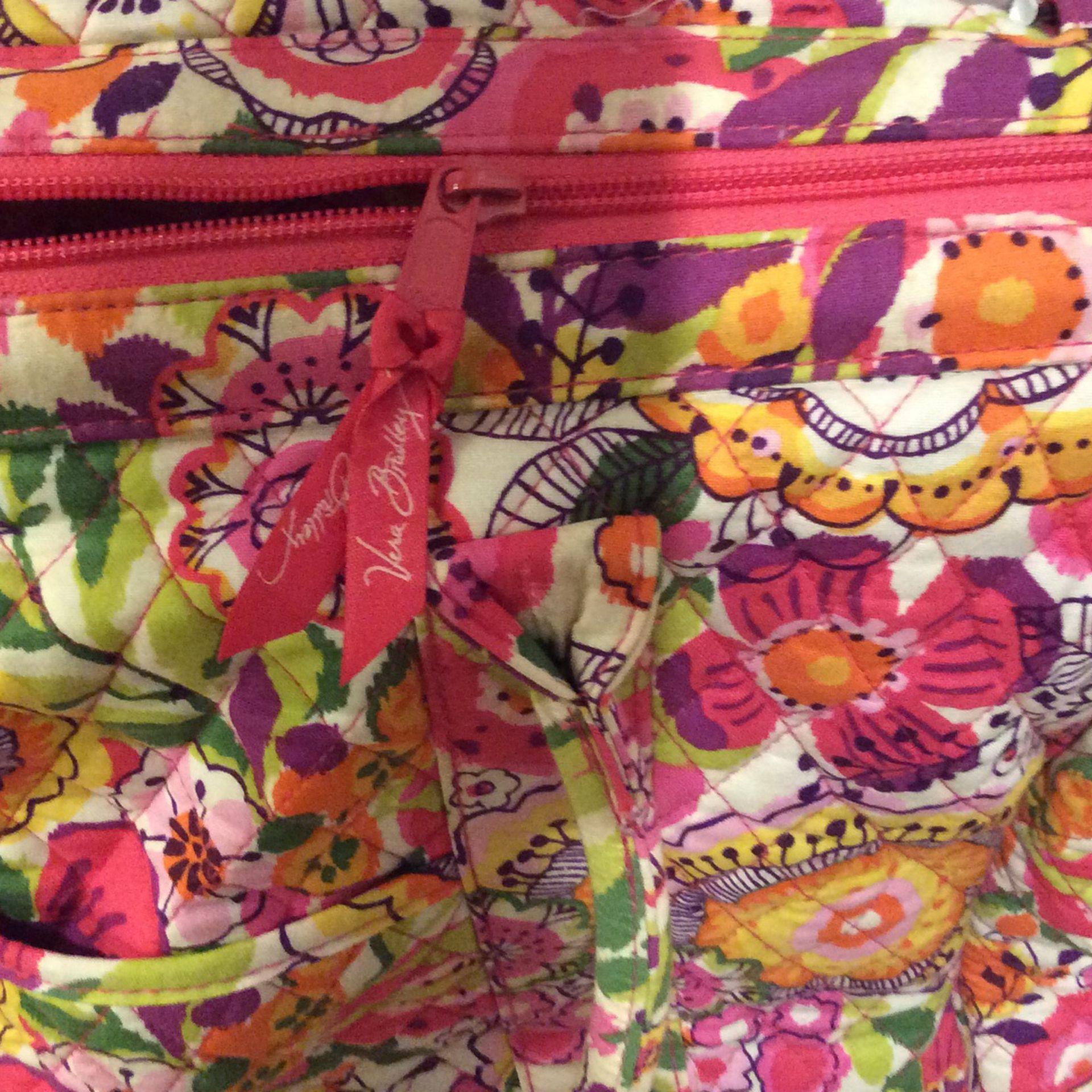 Vera Bradley Large Weekender Travel Bag