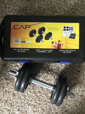 CAP 40lb adjustable weight for Sale in Baltimore, MD
