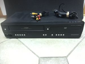 Magnavox MWD2205 DVD VCR Player Combo / VHS Recorder No Remote for Sale in South Pasadena, FL