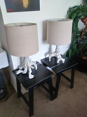 TWO LAMPS AND TABLES for Sale in McLean, VA