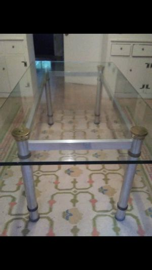 Glass Dining Table for Sale in Aspen Hill, MD