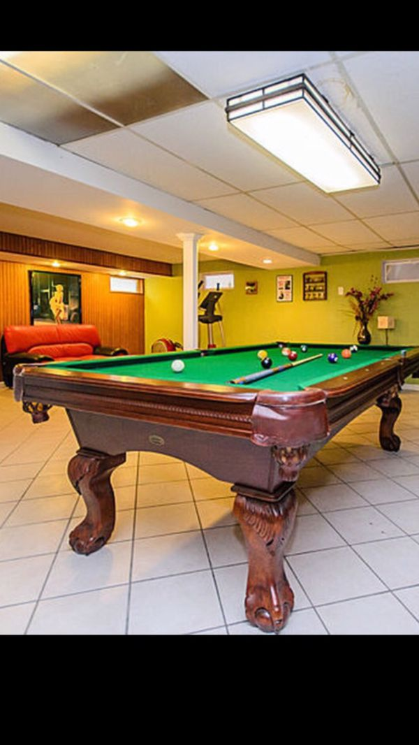 Sport Craft Ft Pool Table For Sale In Chicago IL OfferUp - Sportcraft 1926 pool table