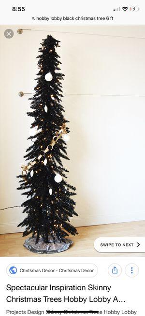 Christmas Trees Hobby Lobby.Hobby Lobby Blk Christmas Tree 6ft Tree For Sale In Chandler