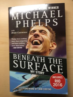 Autographed Michael Phelps book for Sale in Ashburn, VA