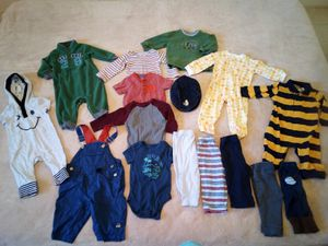 Photo 15 piece Baby boy clothes sz 6/9 mths~All Info in Post