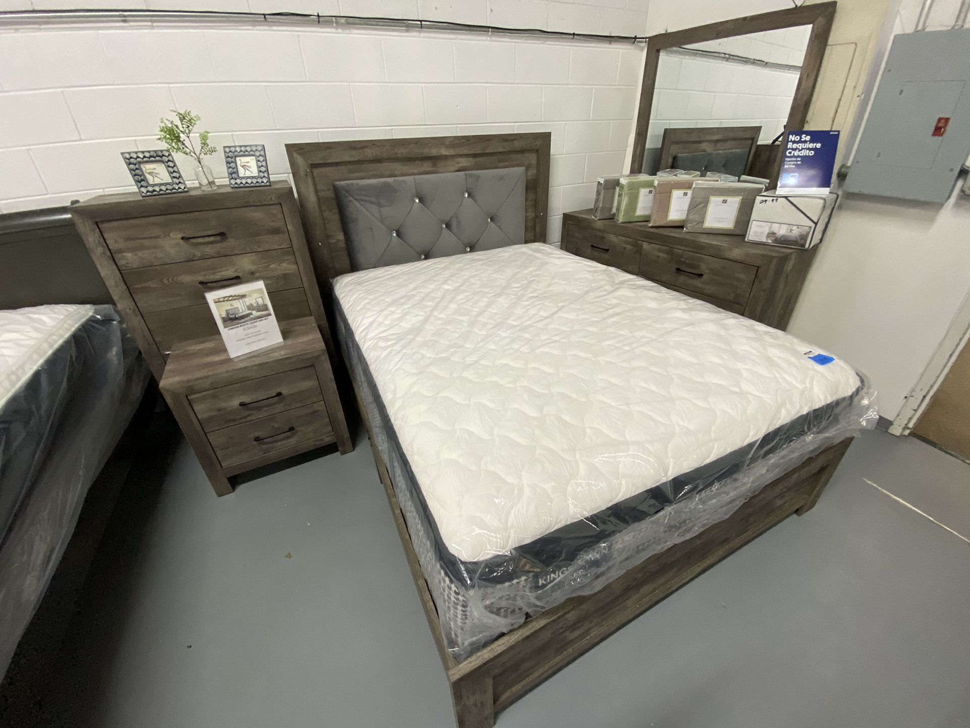 Bedroom Sets On Sale today- Only $52 Down - Take It home Today Ask Eli