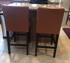 Counter stool or Bar stool set of 2 for Sale in Ashburn, VA