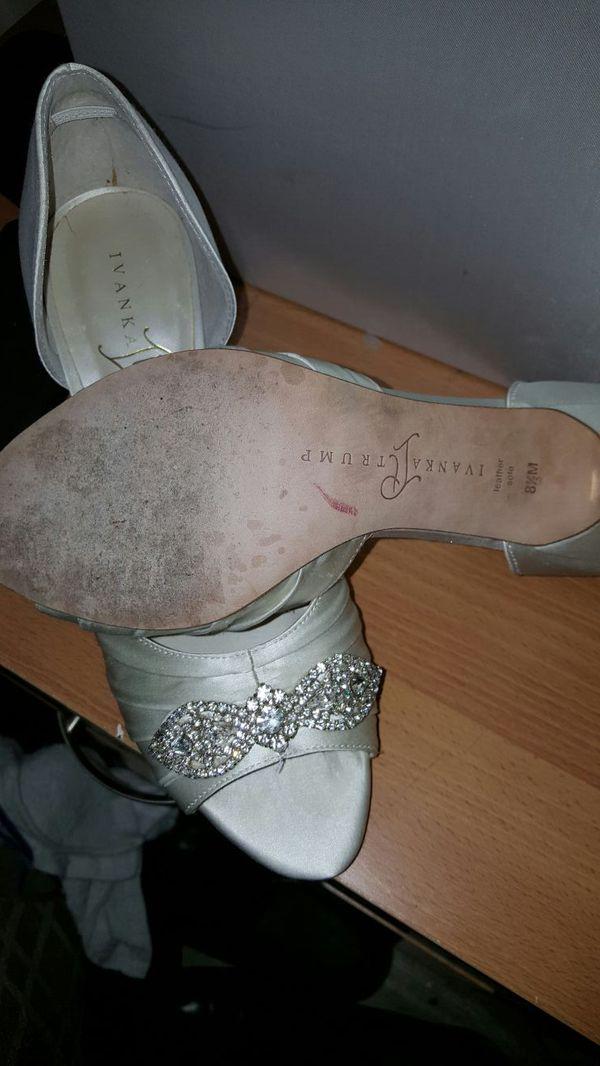 e3c4fc03c25 Ivanka Trump wedding shoes for Sale in Boston
