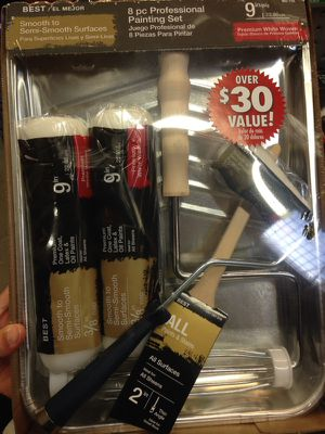 8 pc professional painting set for Sale in Nashville, TN