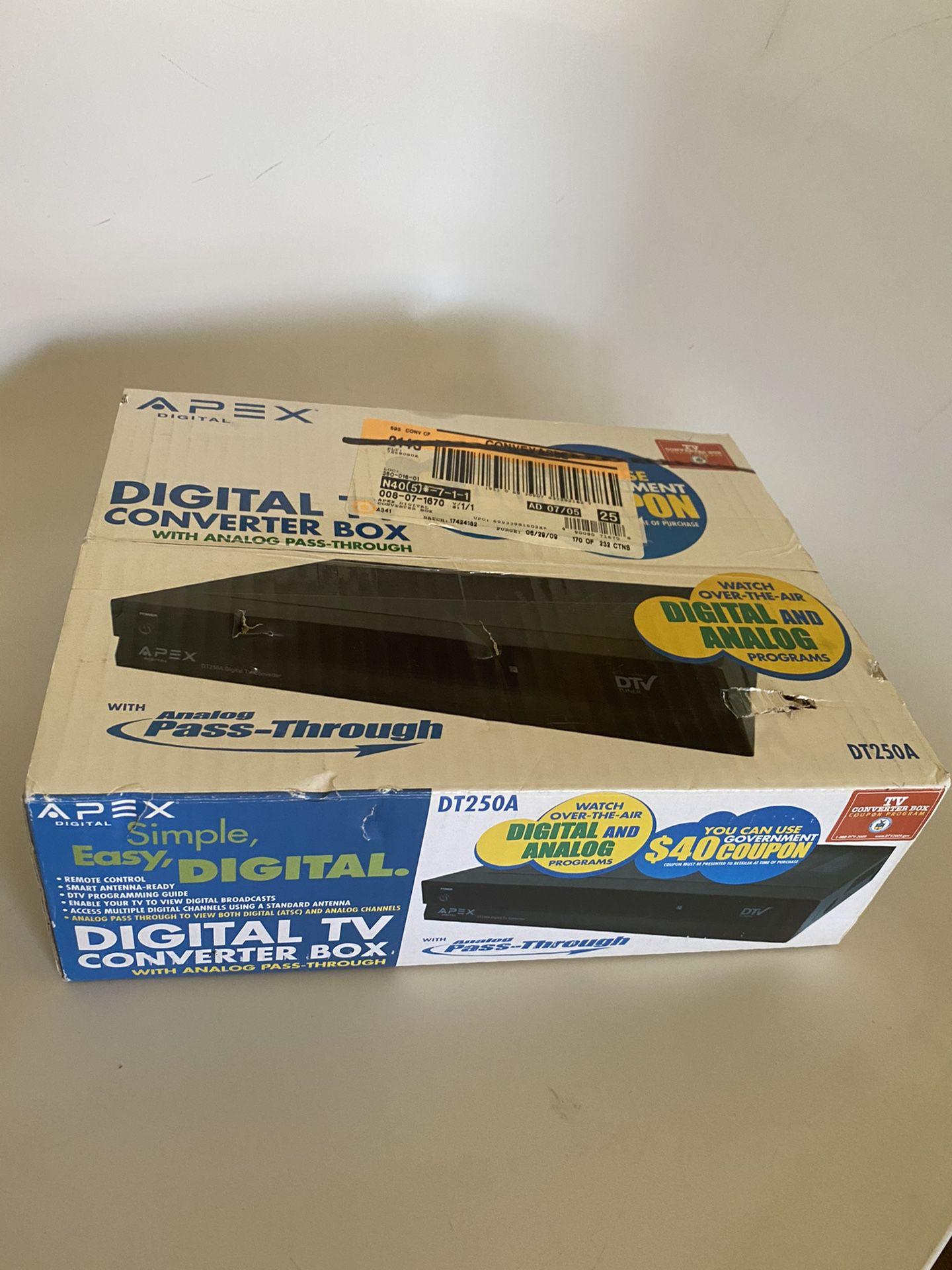 Apex digital TV converter box