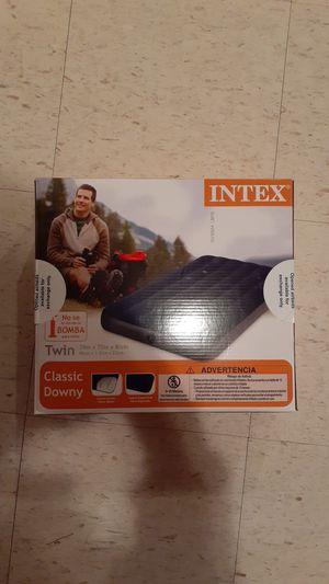 Photo Intex twin air mattress
