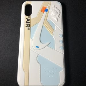 New iPhone XS/X OFFWHITE Jordan 1 Case WHITE for Sale in Los Angeles, CA