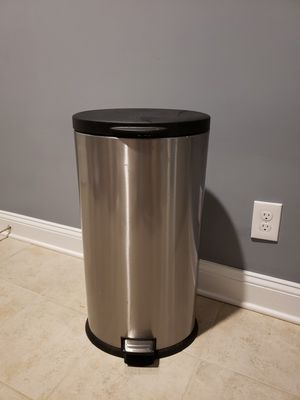 Stainless steel trashcan for Sale in Centreville, VA