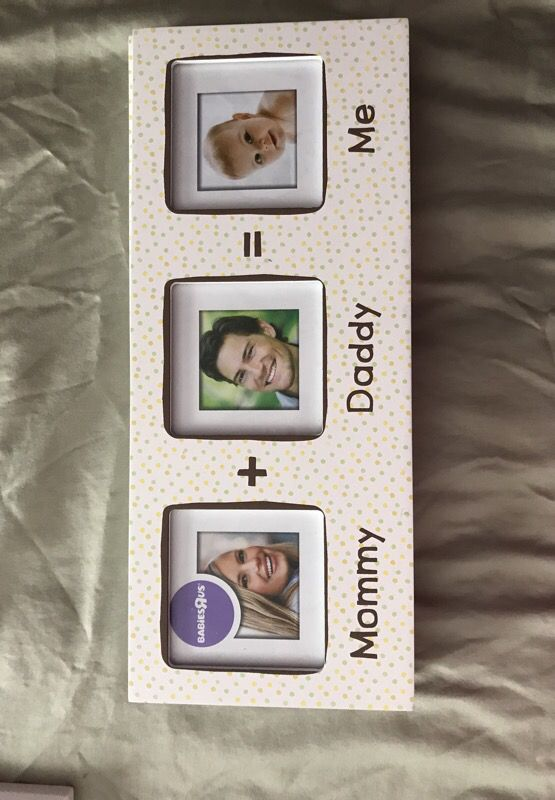 Mommy Daddy And Me Baby Frame For Sale In Tewksbury Ma Offerup
