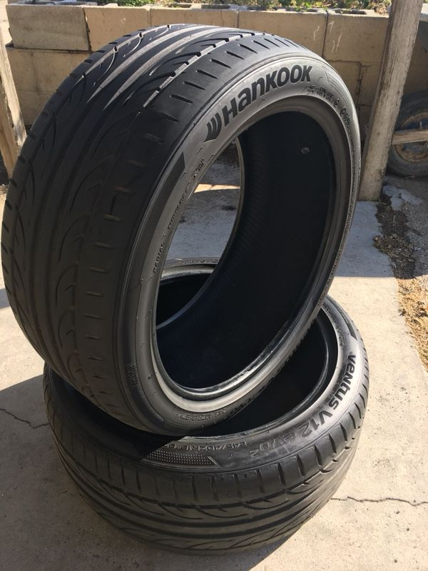 Hankook Ventus V12 Evo2 245 40 R18 Tires Pair For Sale In Ontario