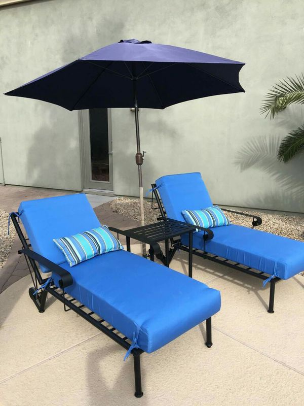 Custom Chaise Lounge Outdoor Patio Furniture For Sale In