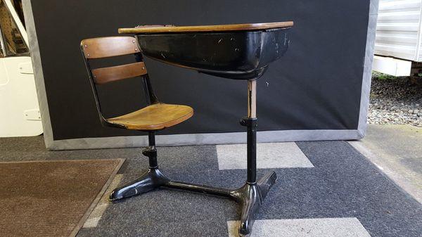 - Antique School Desk For Sale In Normandy Park, WA - OfferUp