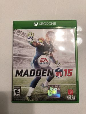 Madden 15 -NFL Xbox one game for Sale in Mount Juliet, TN