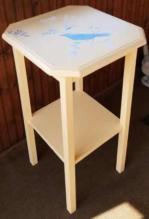 Tall Wooden Side Table for Sale in Sanford, FL