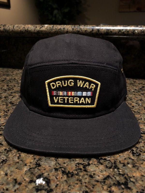 RockSmith Drug War Veteran SnapBack Hat for Sale in Fortville 303f08aa842e