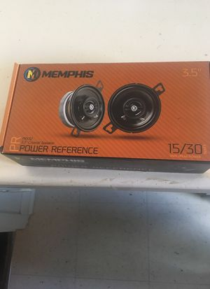 Memphis PRX 3.5 Coaxial speaker 15/30 watts for Sale in Chicago, IL