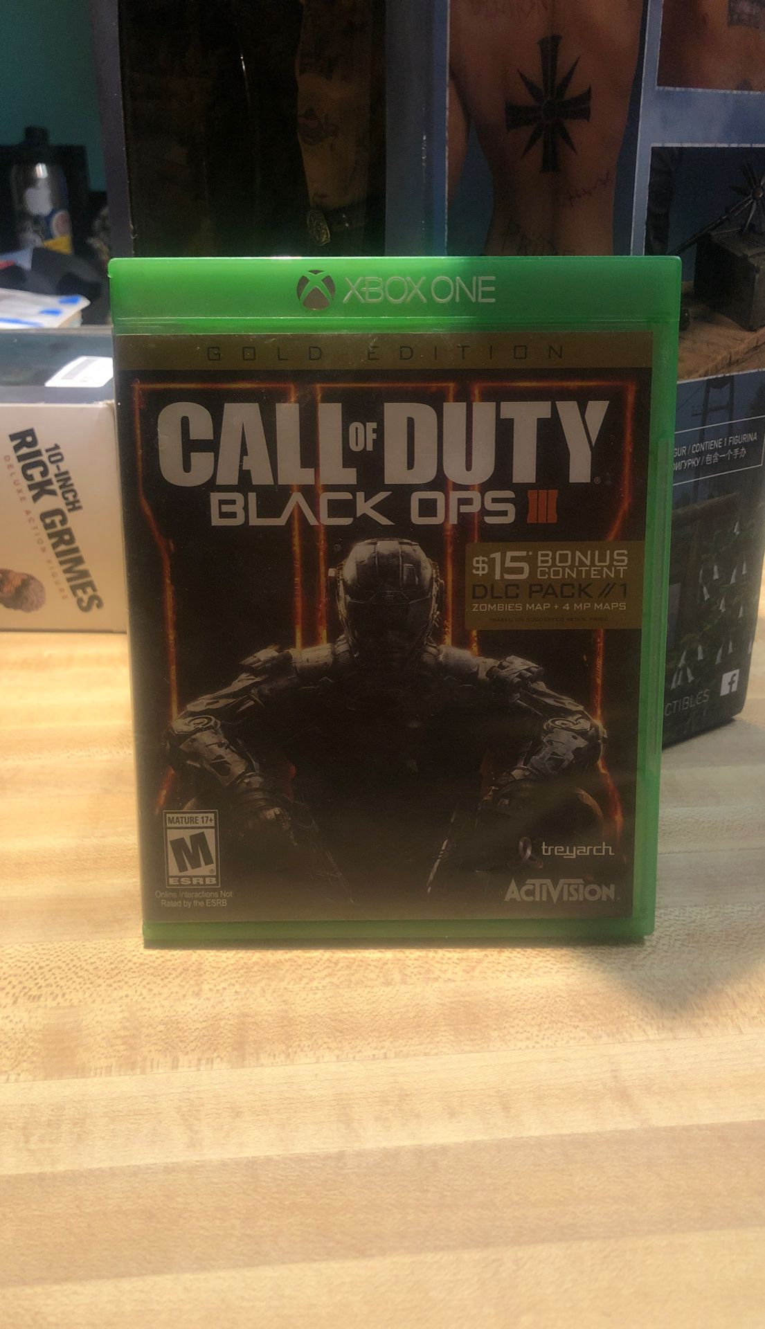 Call of duty black ops 3 for Xbox 1
