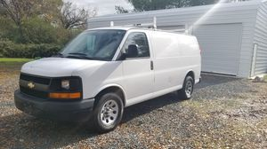2012 CHEVY EXPRESS CARGO VAN WITH LADDER RACKS 72K MILES for Sale in Clinton, MD