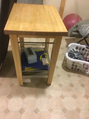 Kitchen butcher Table for Sale in Montgomery Village, MD