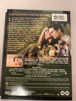 A walk to remember with Mandy Moore DVD Thumbnail