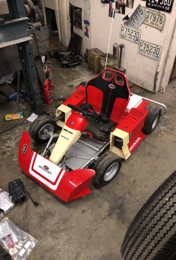 Honda Mini Moto Electric Go Cart With Manual