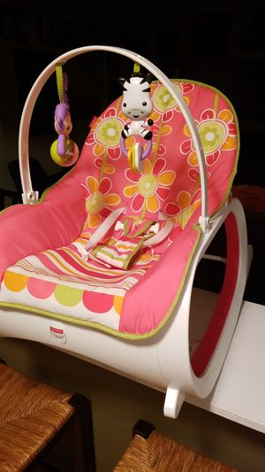 Photo Baby Rocker and chair