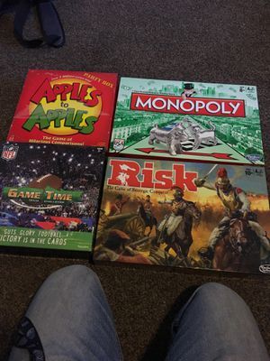 Monopoly and risk are new all for 30$ for Sale in Bakersfield, CA