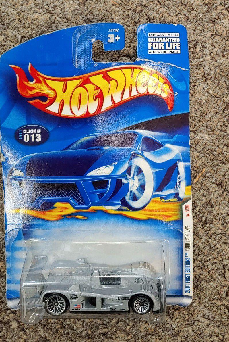 Hot Wheels 2001 First Edition Cadillac LMP 1/36 013