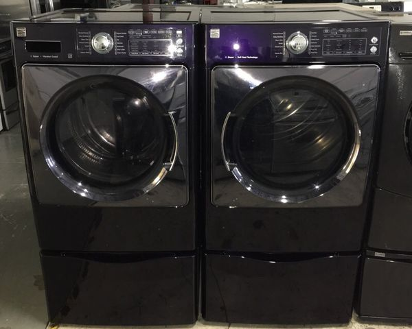 Blackberry Kenmore Elite Front Load Steam Washer And Steam